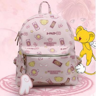 Card Captor Sakura Pink Backpack SP165533 – SpreePicky. Card Captor Sakura  Pink Backpack SP165533 – SpreePicky Tween Backpacks 11d568eace931