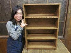 2011年2月27日 みんなの作品【本棚・棚】 大阪の木工教室arbre(アルブル)