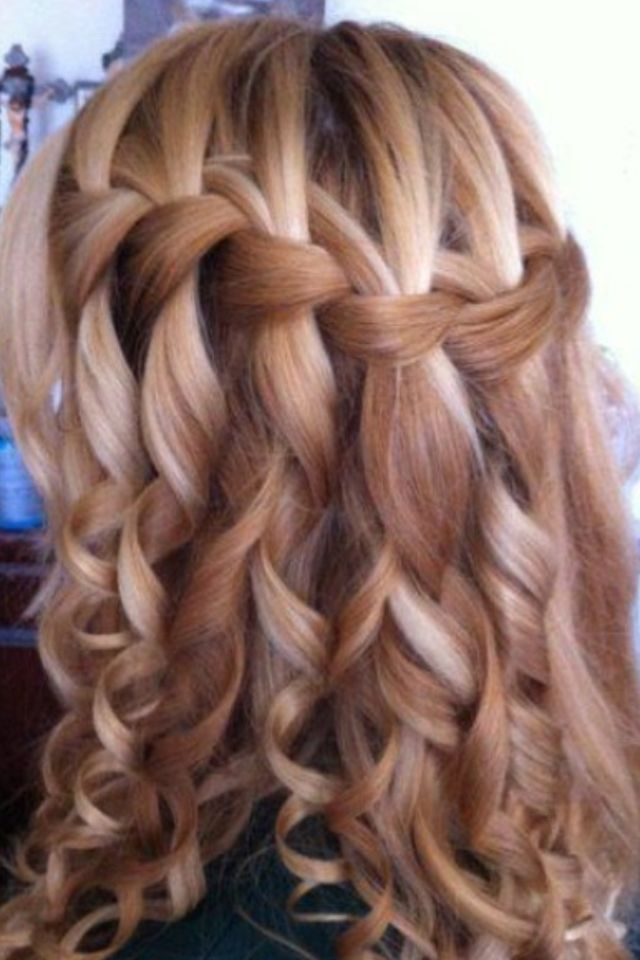 Pinterest Interests Wedding Hairstyle Ideas 1 Curly Hair Trends Hair Styles Long Hair Styles