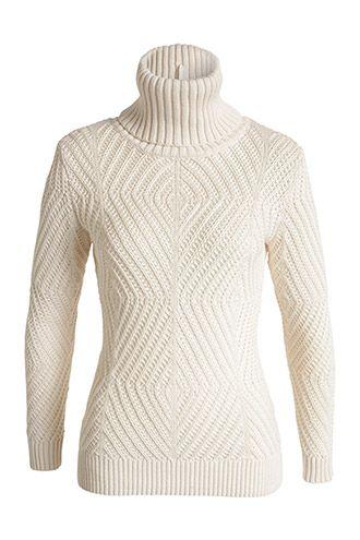 ded3c43a30842 Esprit / Grobstrick-Rolli aus Baumwoll-Mix | Fashion | Pullover ...