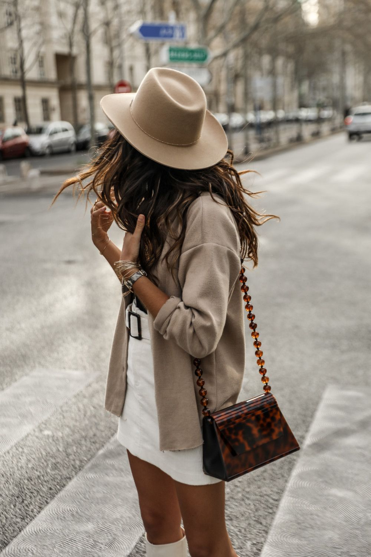Blazer dress for MFW JUNE Sixty Five Blog Mode | Mode