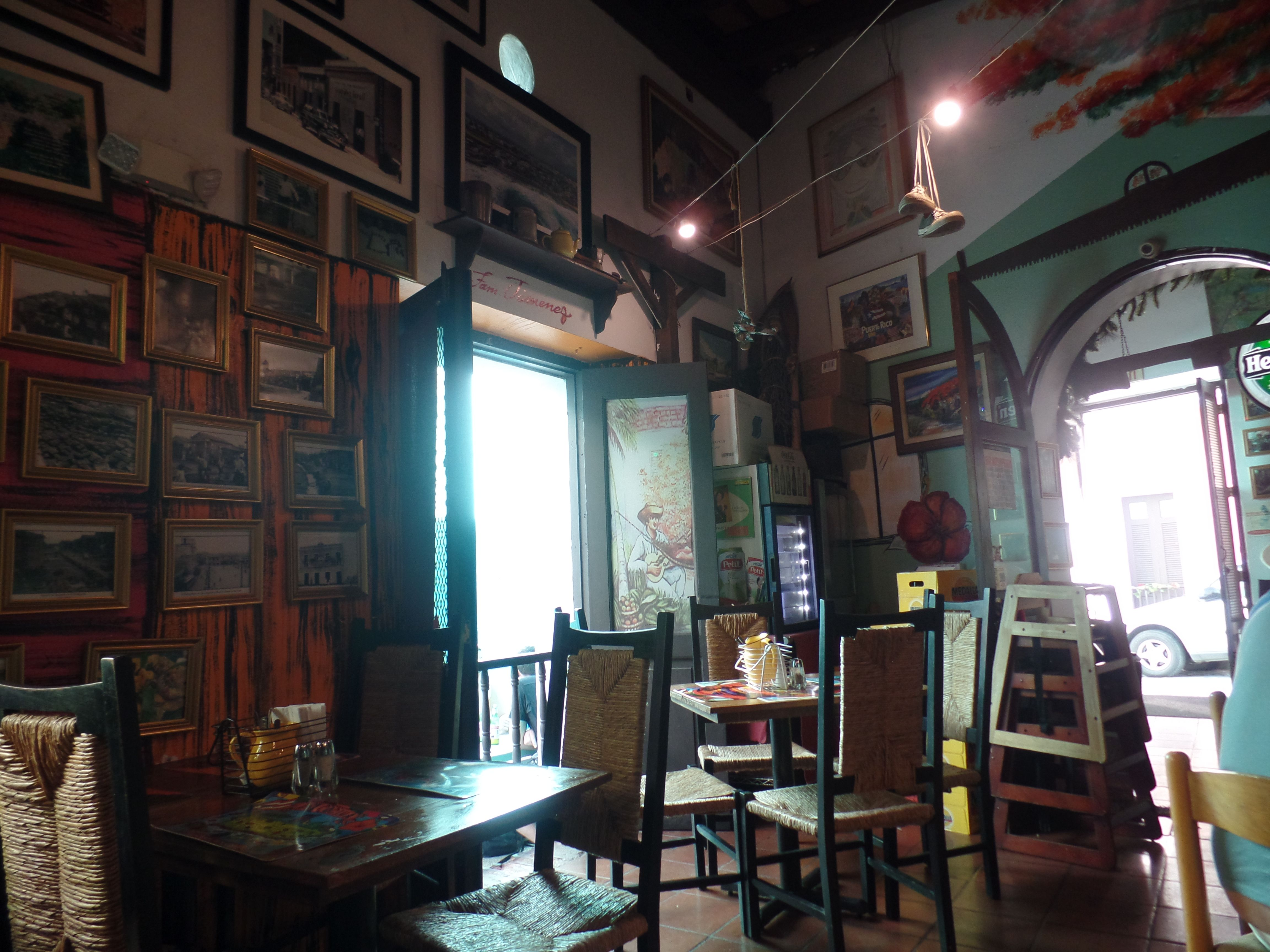 palmas restaurant old san juan, puerto rico | vacation 2015