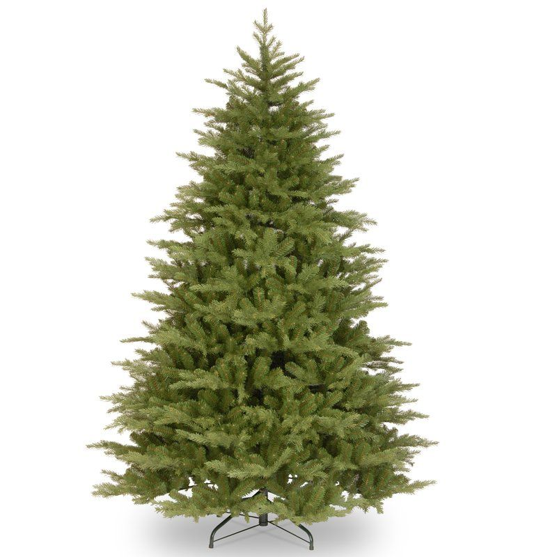 The huntington spruce tree features FEEL-REAL® branch tip technology, creating a tree with remarkable realism.These crush-resistant branch tips are molded from real tree branches for an authentic live tree appearance.The Huntington Spruce is a very natural looking design with branches that are perfect for hanging holiday trimmings. Sturdy folding metal tree stand is included.