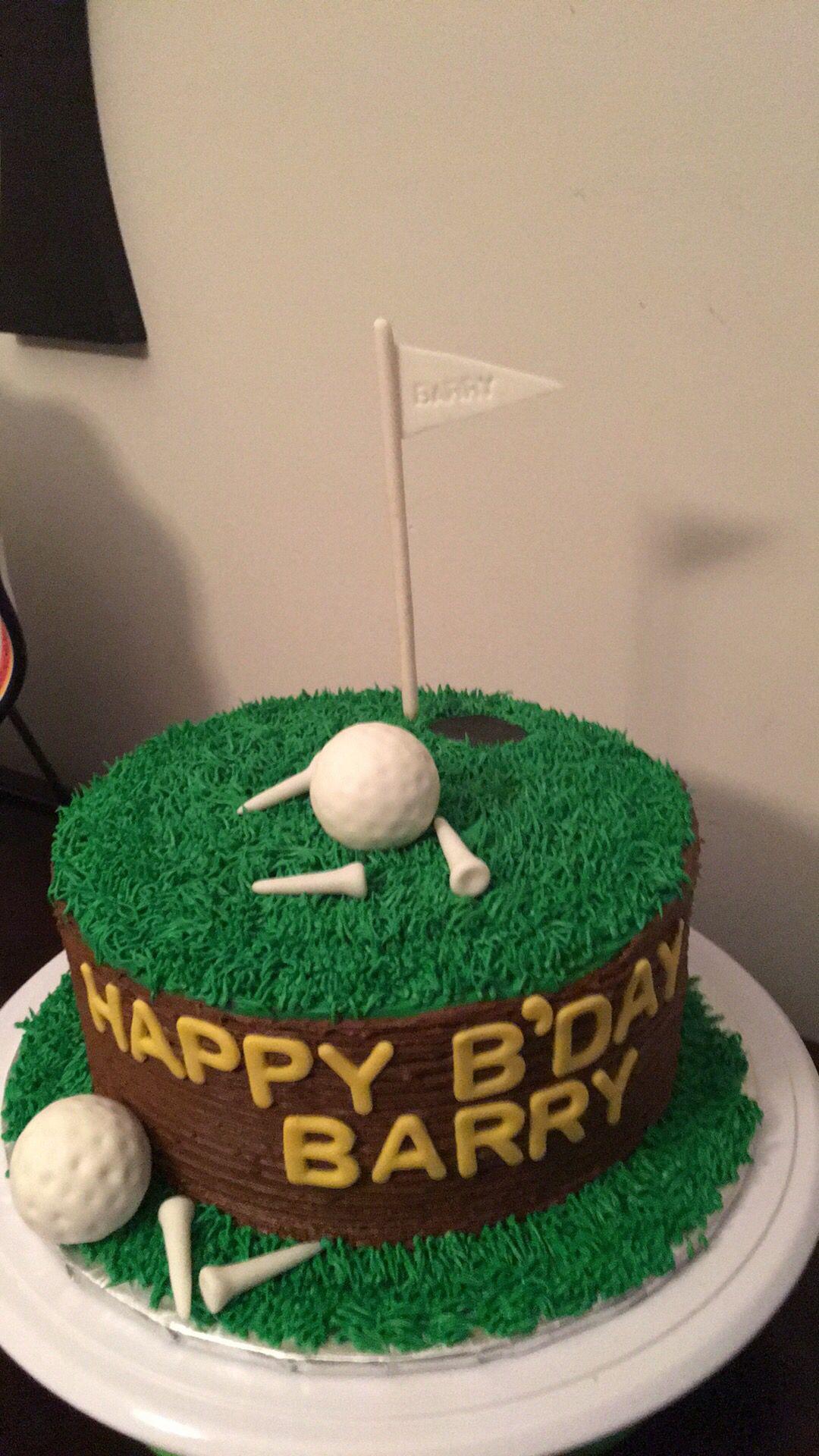 Golf Grooms Cake Pinteres