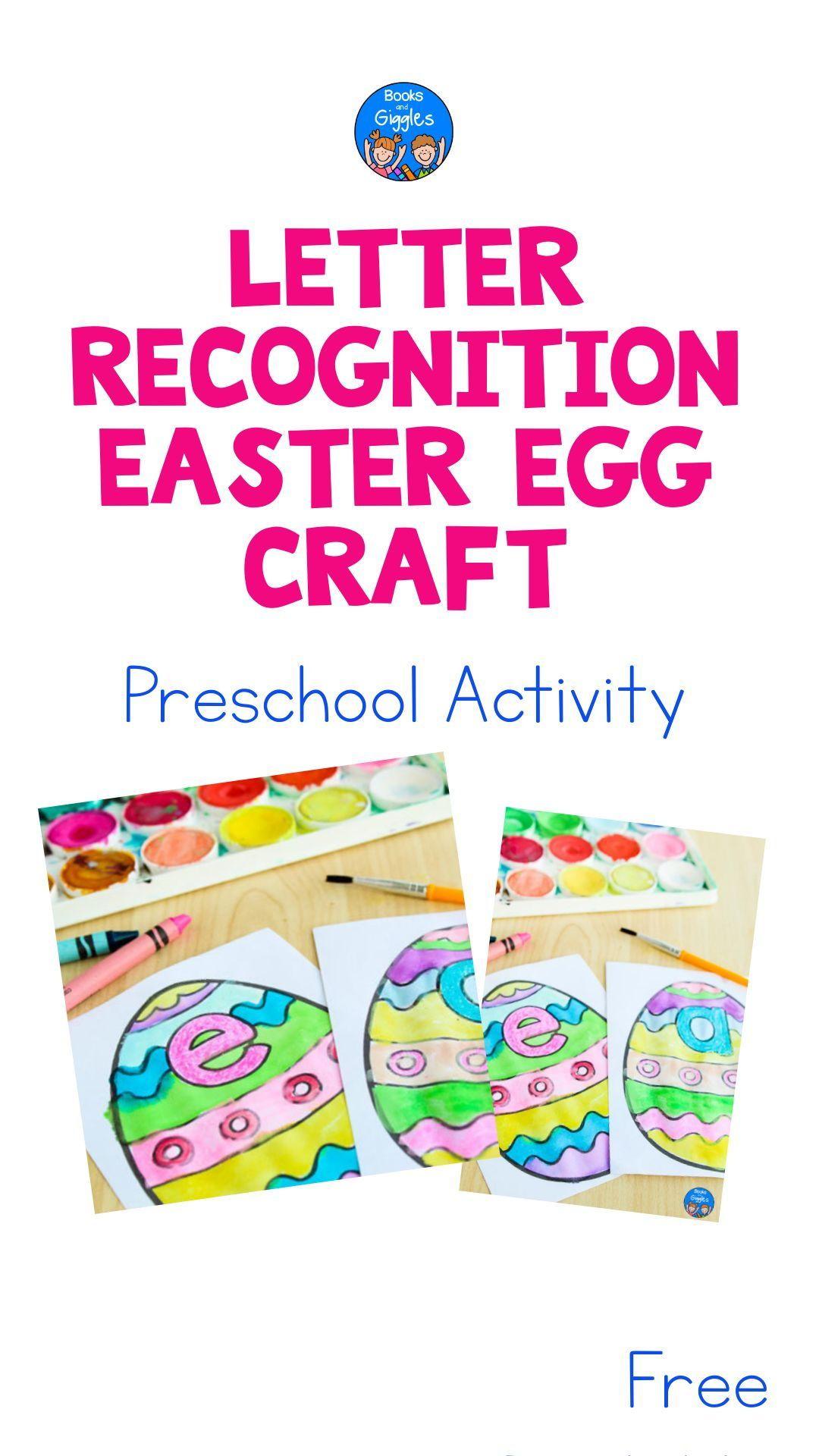Easter Preschool Activity