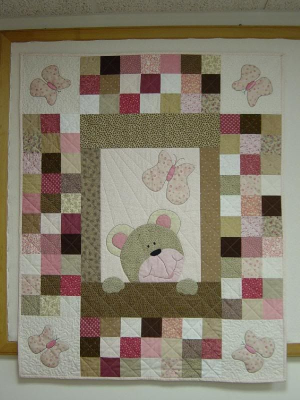 Teddy Bear Or Any Animal How About Using Minky For The Applique