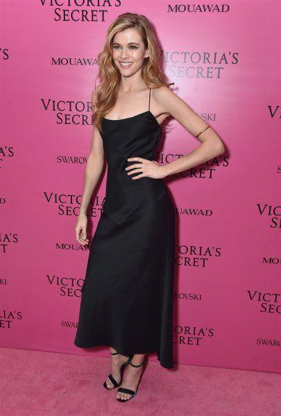 Prominente Cocktailkleider Rosa Teppichzeremonie der Victoria\'s ...