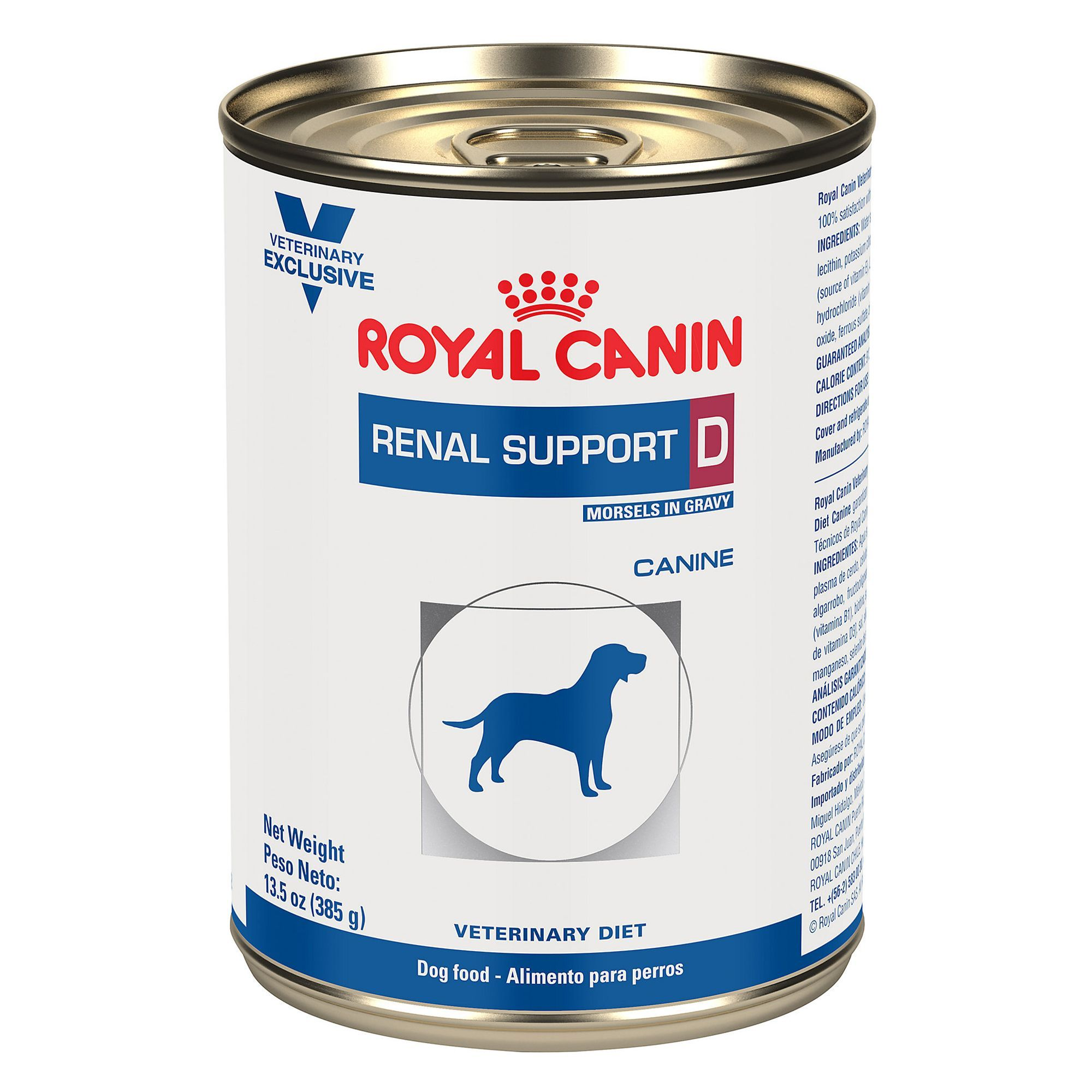Royal Canin Canine Veterinary Diet Renal Support D Dog Food Size