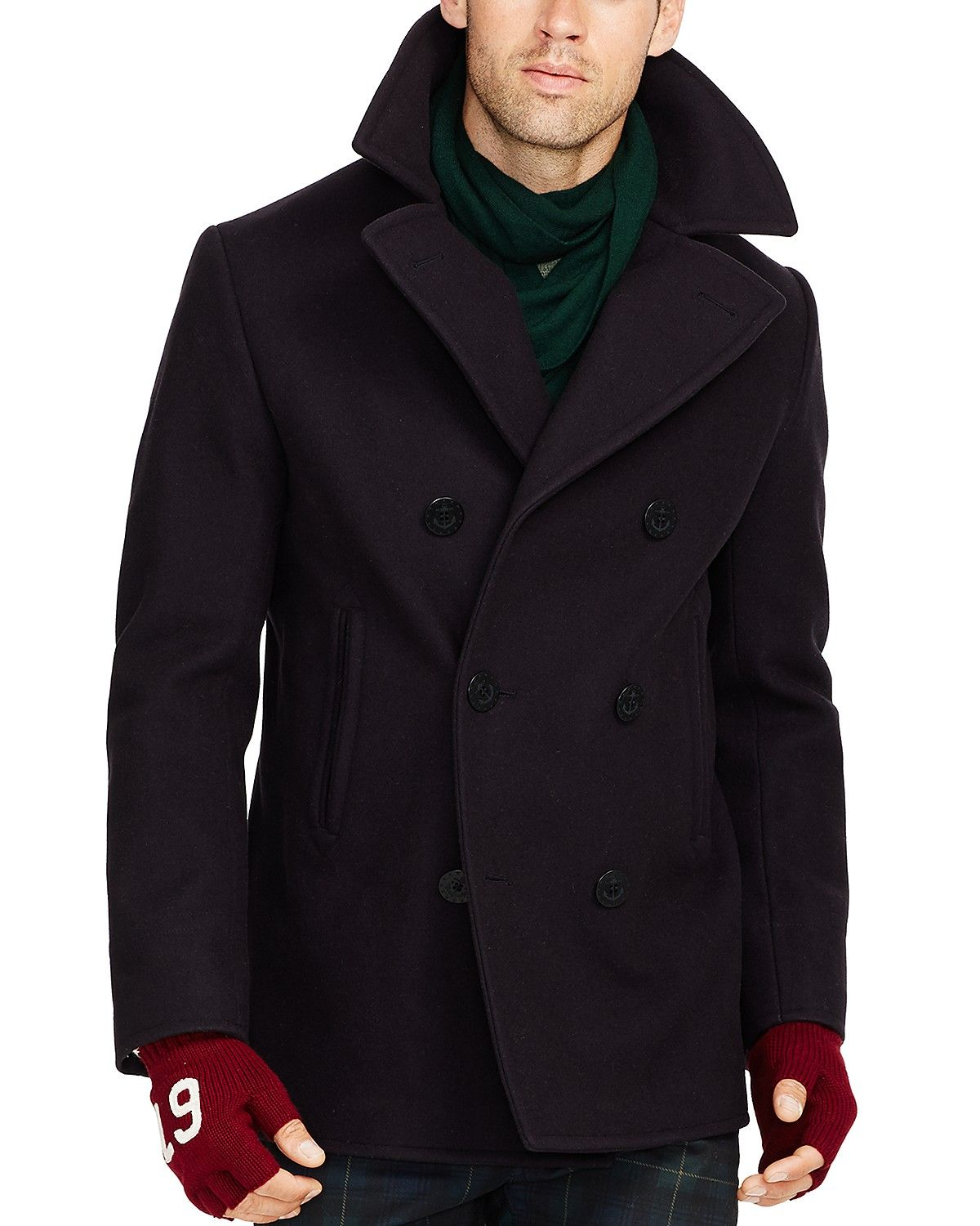 de38c8f3 Polo Ralph Lauren Wool Peacoat | Bloomingdale's | Looks good stuff ...