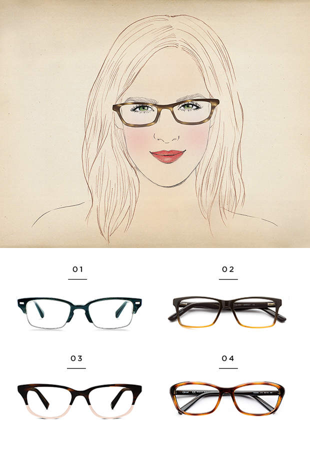 The Best Glasses for All Face Shapes | Pinterest | Face shapes ...