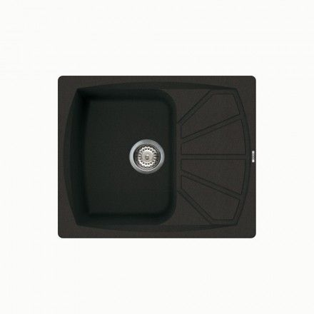 Living 125 Compact Inset Single Compact Bowl Granite Kitchen Sink ...