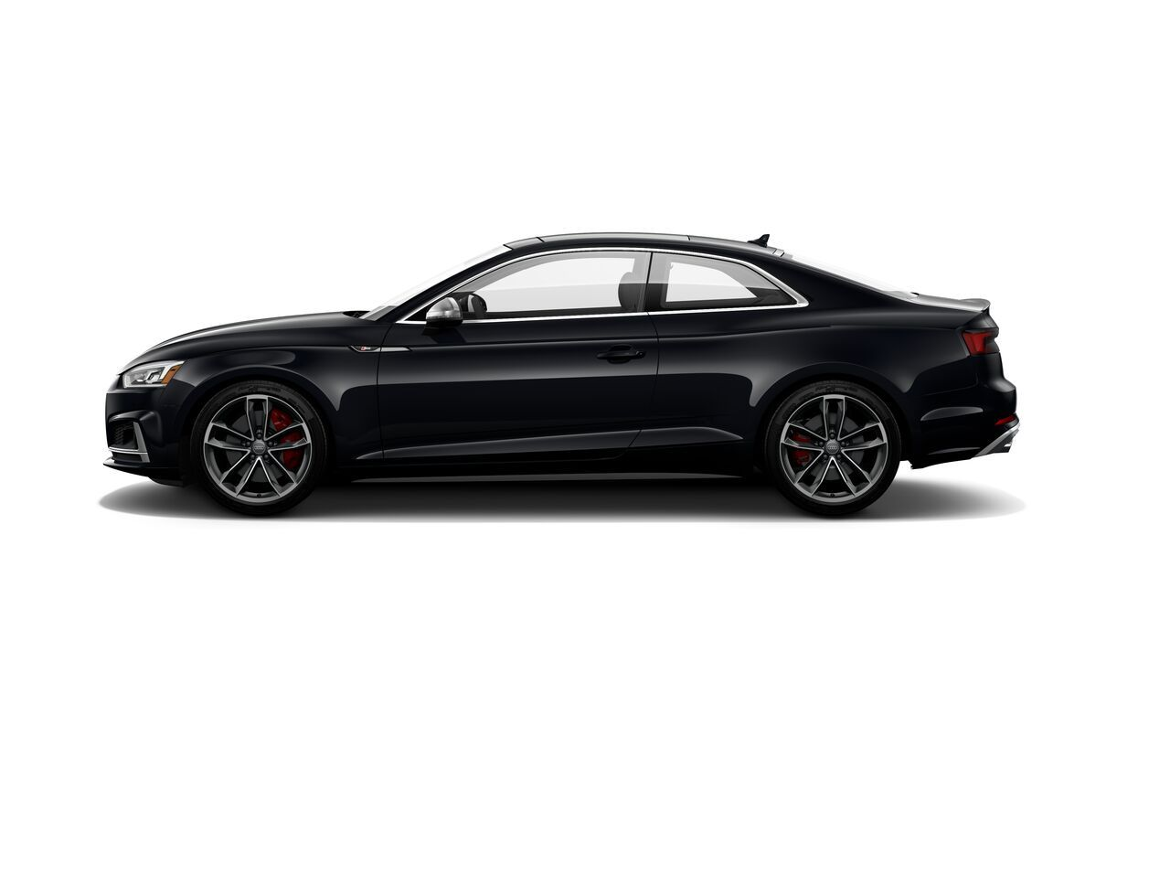 2018 Audi S5 Coupe Build Shown In Mythos Black Metallic Exterior