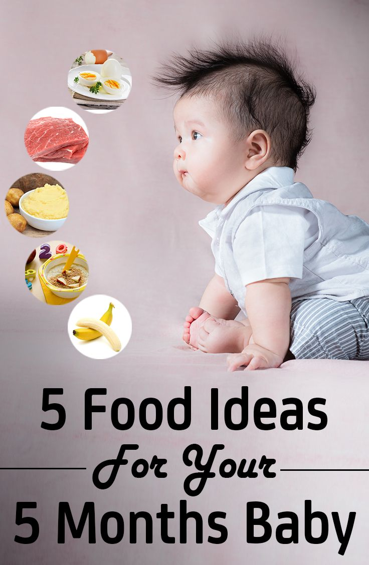Top 5 Ideas For 5 Months Baby Food 5 Month Baby 5 Month Old Baby Baby Food 5 Months