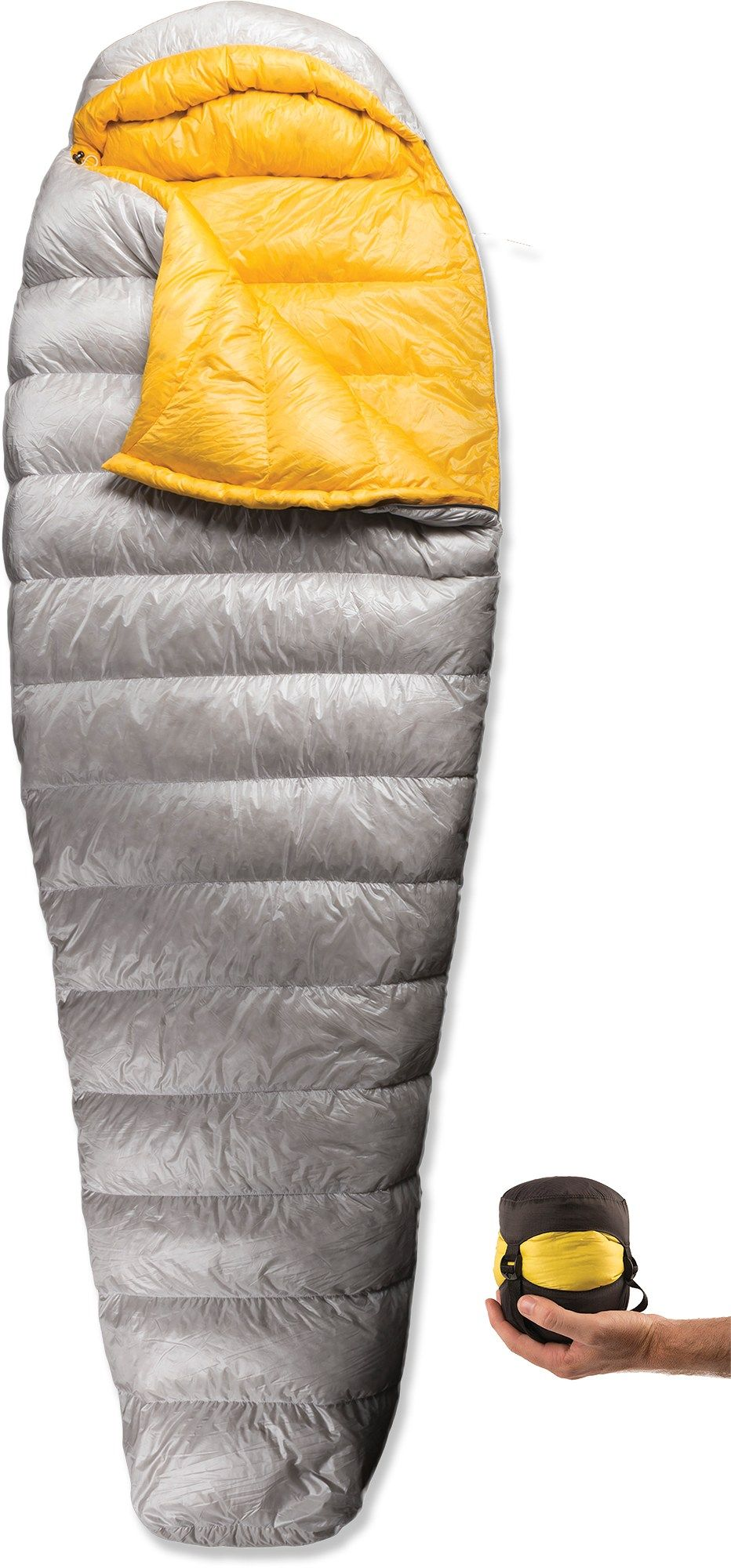 Sea to Summit Spark SpI Sleeping Bag Silver Long