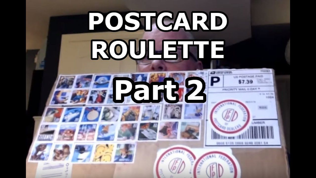 Postcard Lot Roulette Buying Ebay Lots To Flip Part 2 Postcard Postcard Boxes Roulette