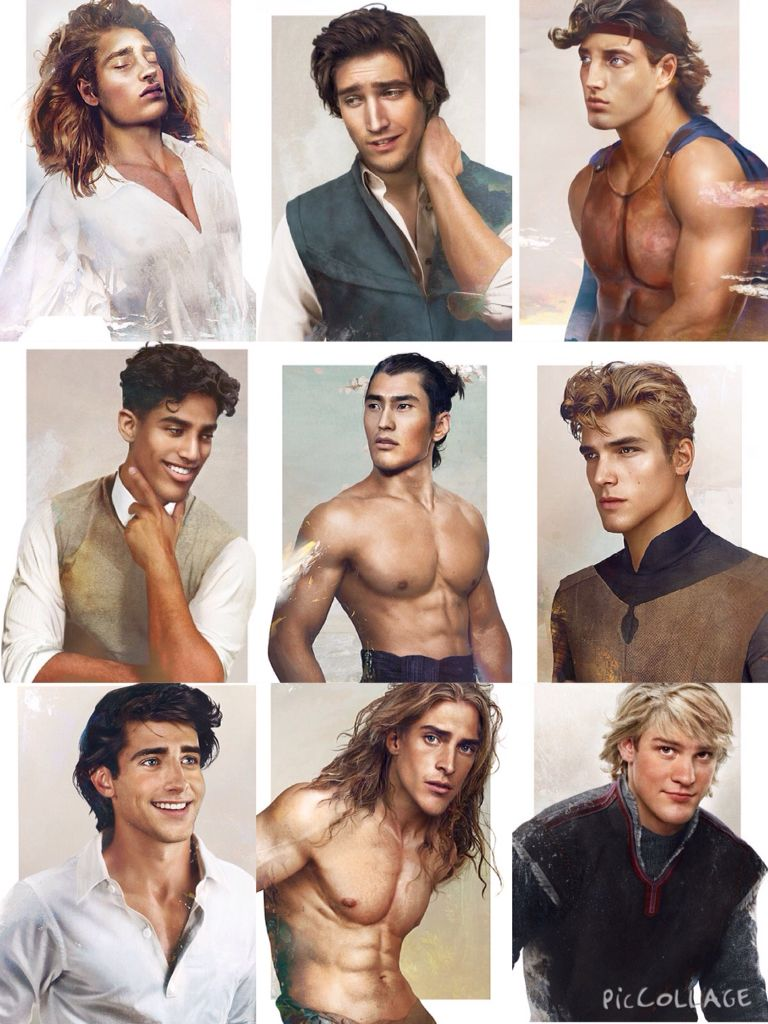 Disney Princes In Real Life  Random  Disney Drawings -1236