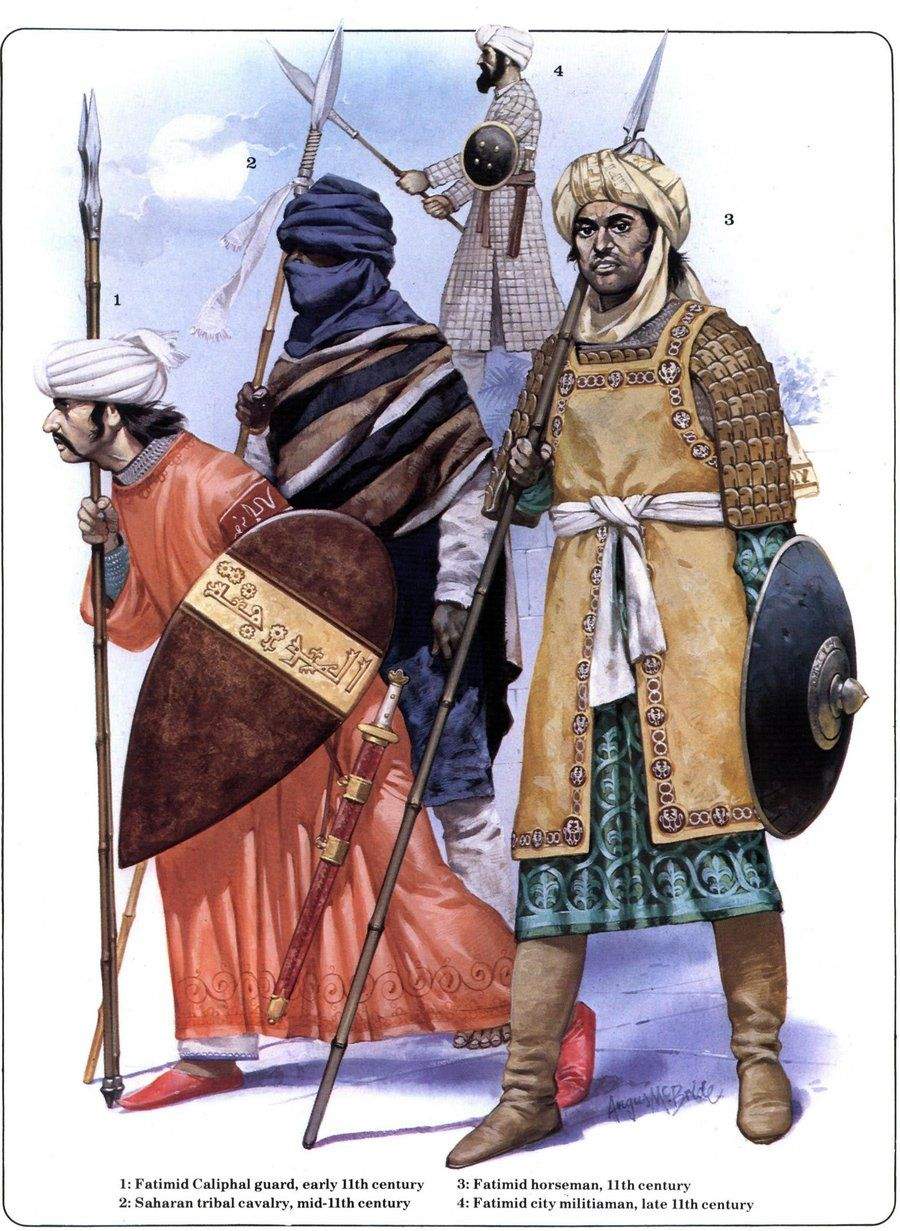 Muslim Warriors By Byzantinum Historical Reference For