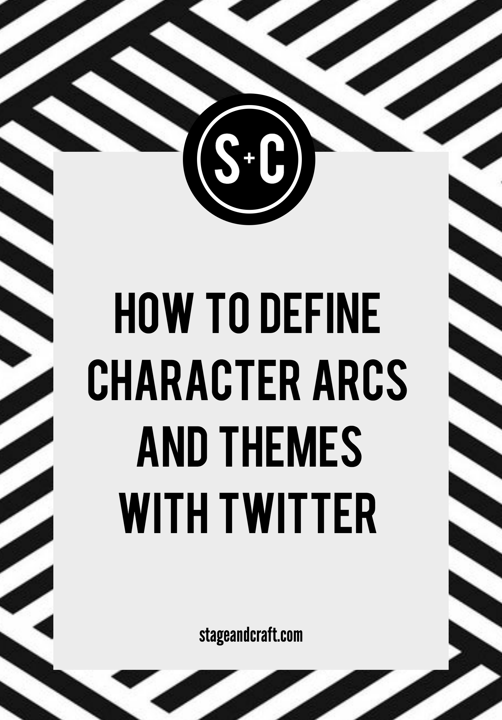 How To Define Character Arcs And Themes With Twitter