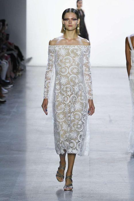 Tadashi | Kleid mit ärmel, Kleider, Modestil