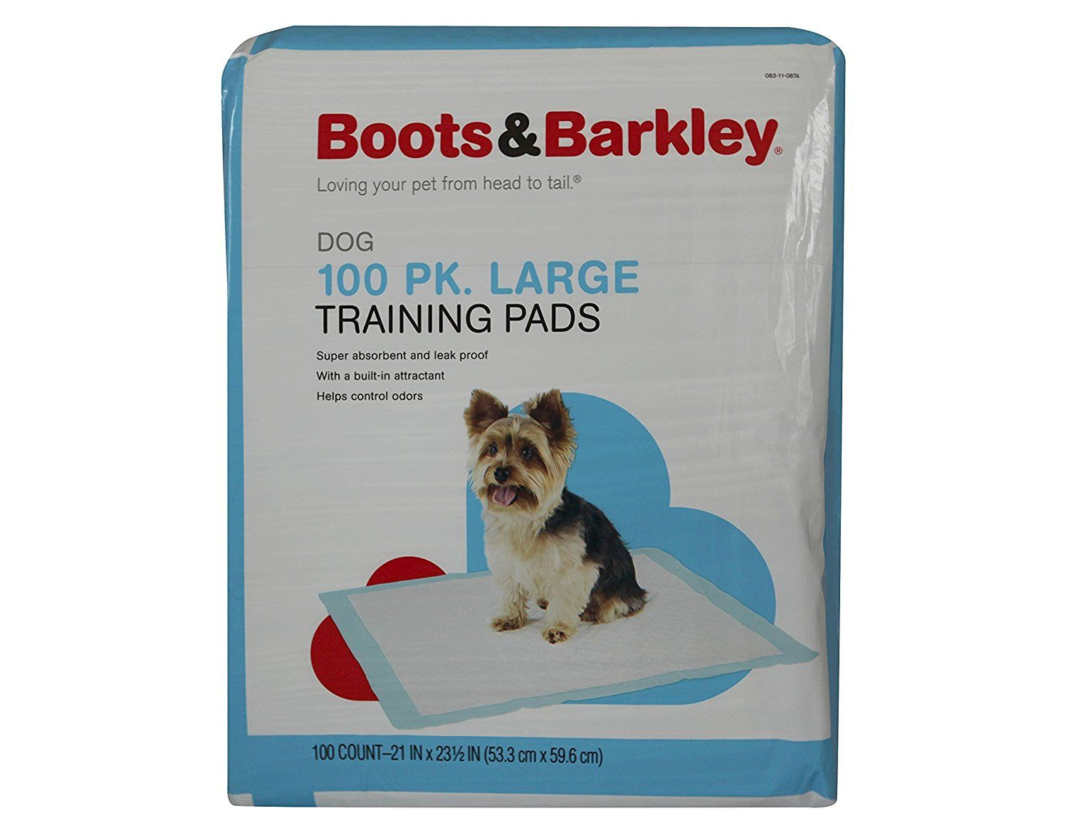 Puppy Training Pads Large 100 ct *** Visit the image link