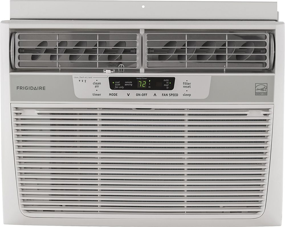 Frigidaire 12 000 Btu Window Air Conditioner White Window Air Conditioner Room Air Conditioner Quiet Window Air Conditioner
