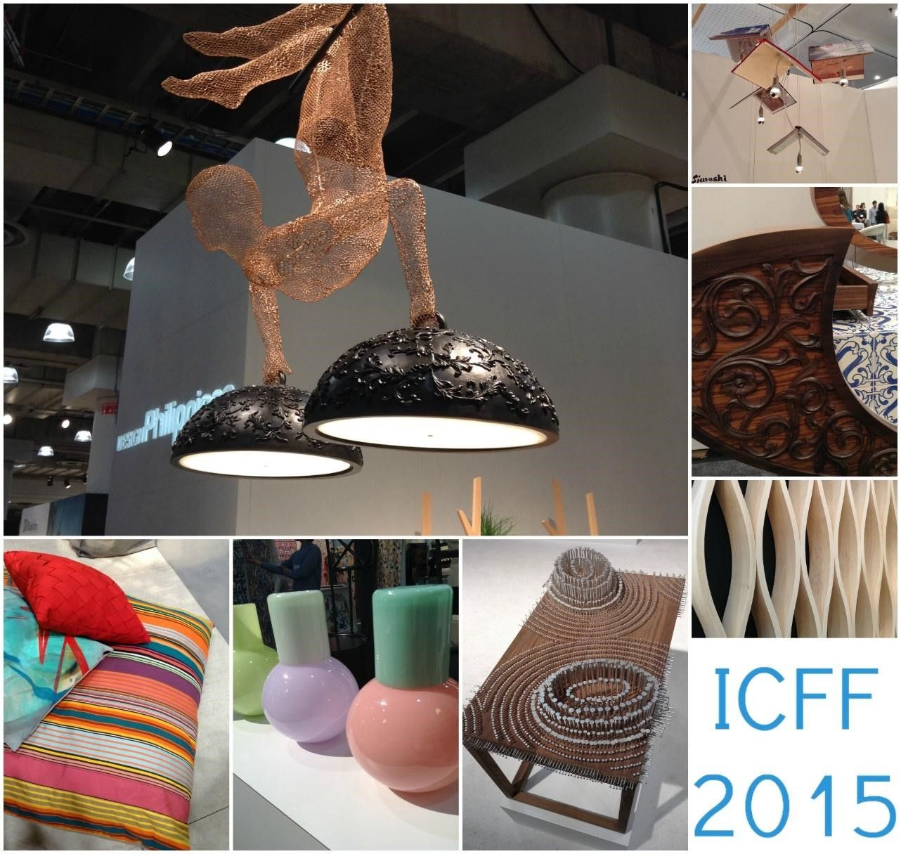 ICFF 2015 Through the Eyes of Our Intern... #ICFF2015 #interiordesign #inspiration #tradeshow #NYC