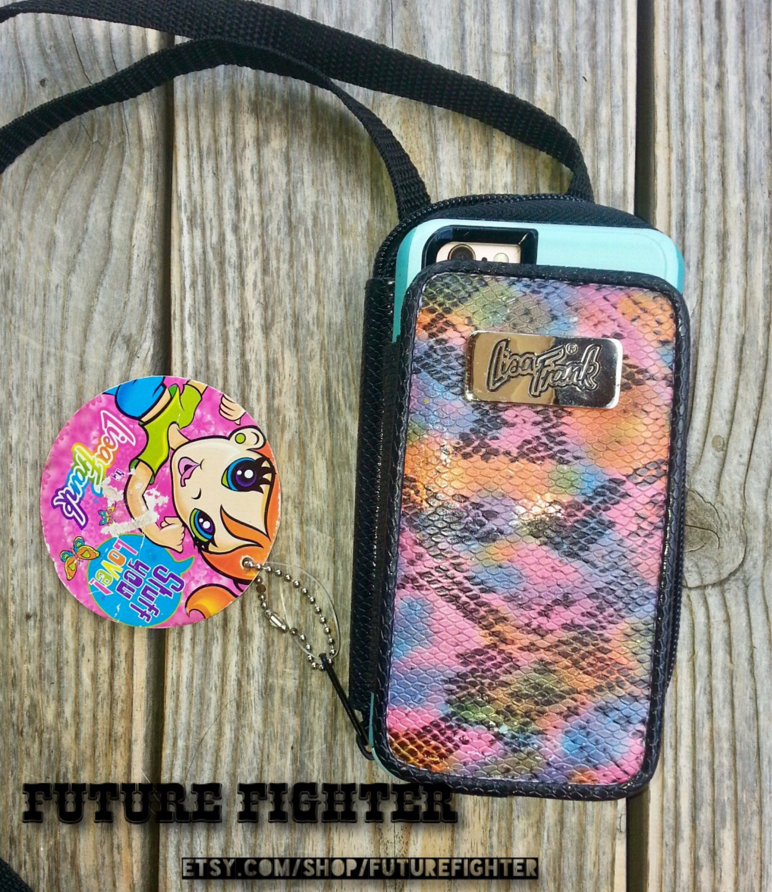 Lisa frank wallet cell phone case cell phone wallet case