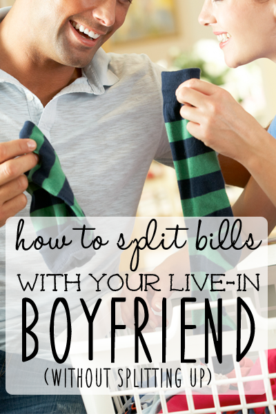 4 Solid Ways To Split The Bills With Your Boyfriend Without Causing Stress In The Relationship Move In With Boyfriend How To Split Boyfriend Moving