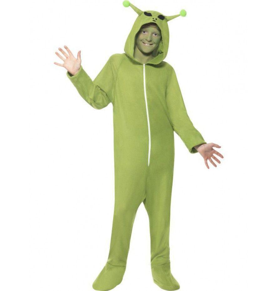 Halloween Verkleedkleding Kind.Onesie Schattig Buitenaards Wezentje Alien Kind Kostuum