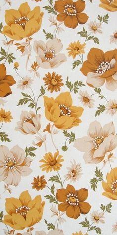 flores tono naranja
