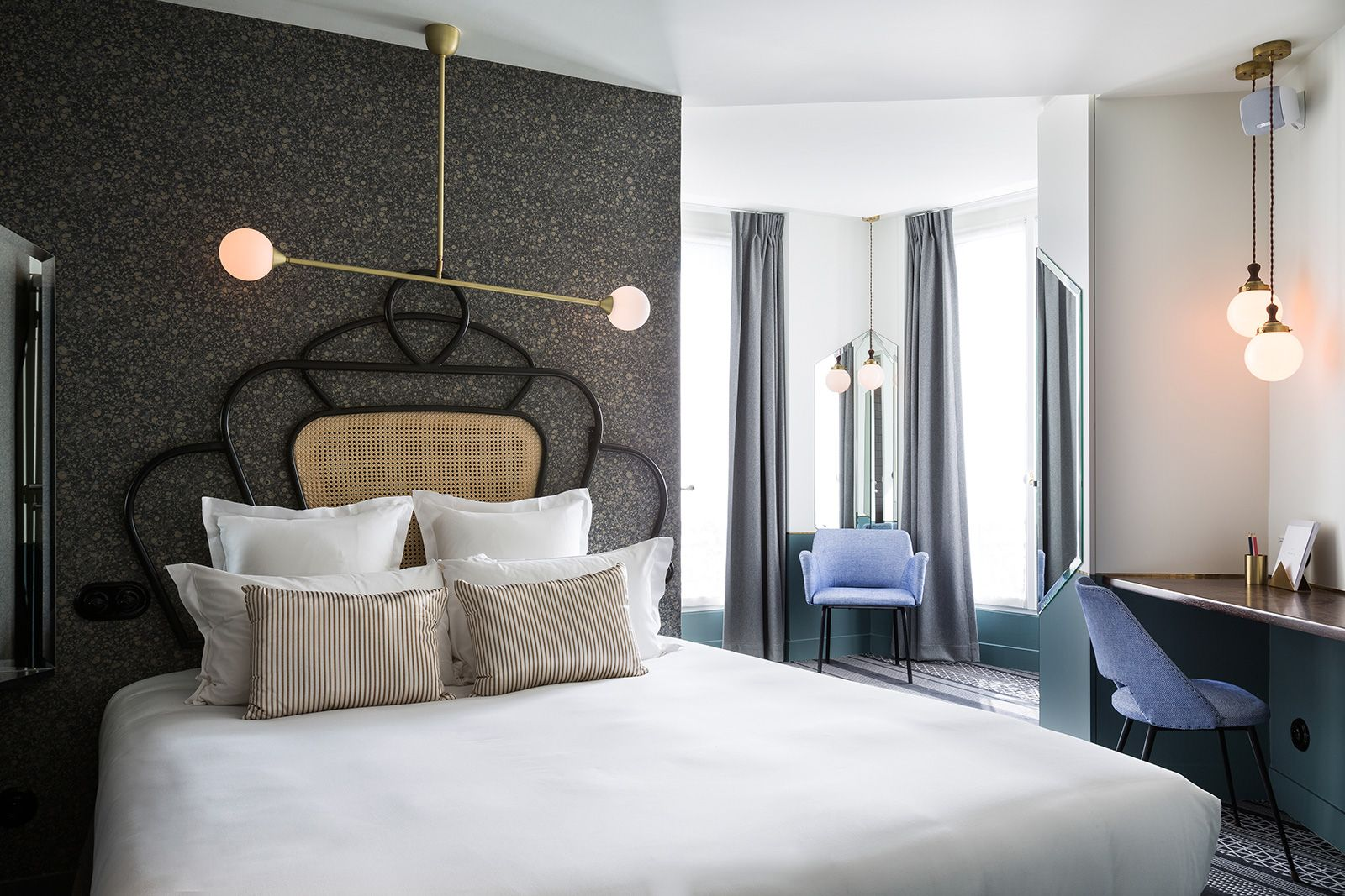 h tel panache chambre double sup rieure guide trip en. Black Bedroom Furniture Sets. Home Design Ideas