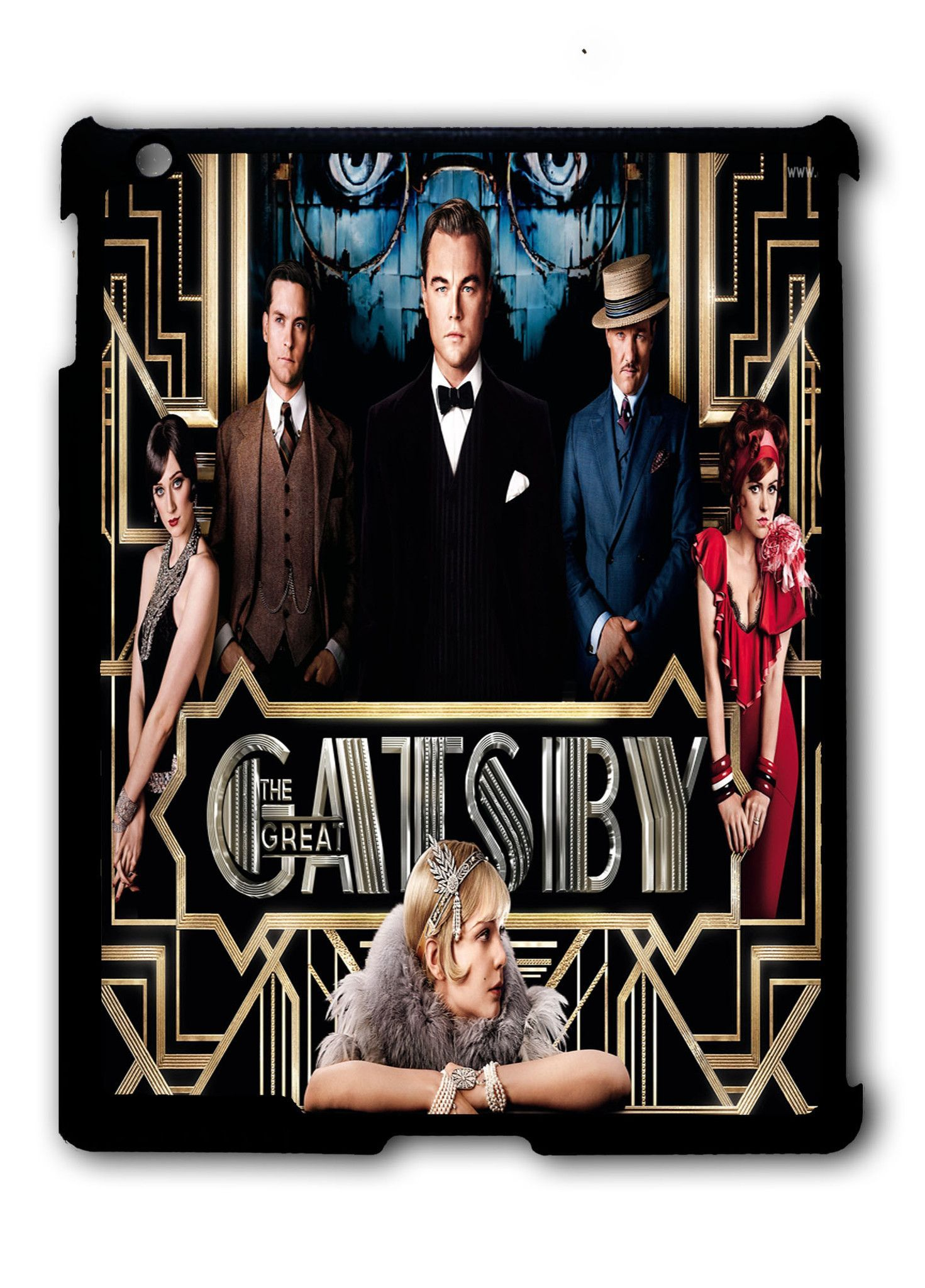 The Great Gatsby Patterns iPad 2 3 4, iPad Mini 1 2 3 , iPad Air 1 2