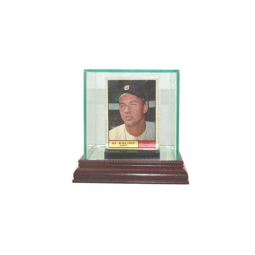 Perfect Cases Single Card Glass Display Case