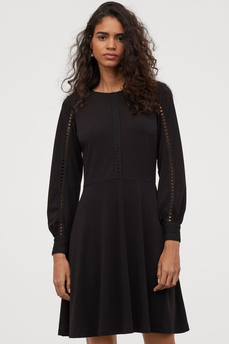 PDP  Kleid spitze, Kurze kleider, Langärmliges kleid