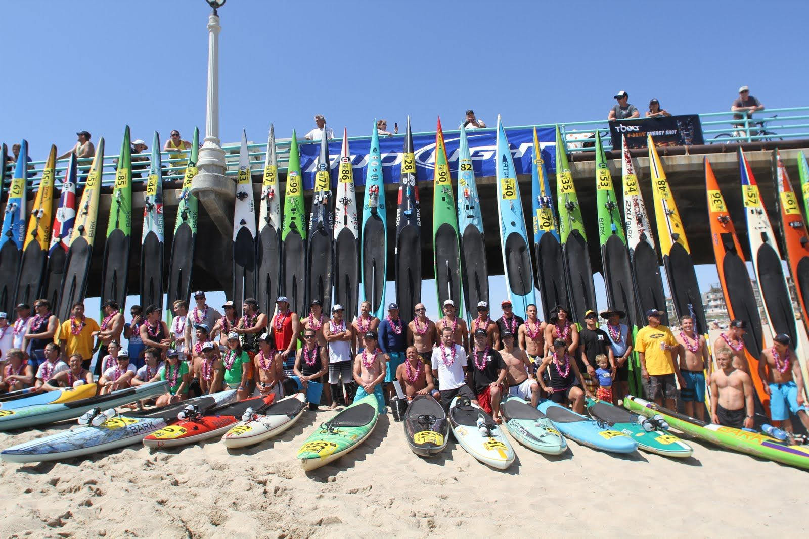 The Catalina Clic Paddleboard Race