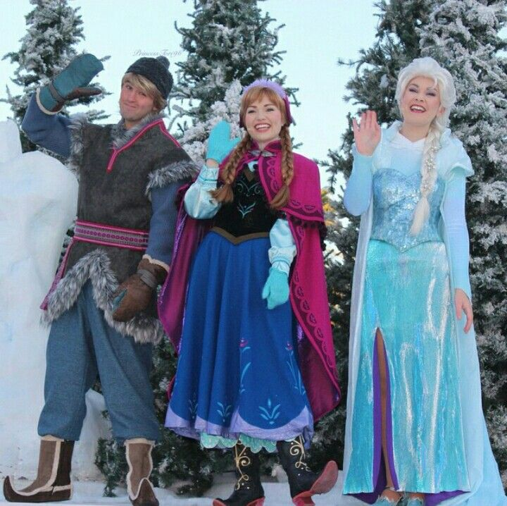 Kristoff, Anna, and Elsa | Disney face Characters ...