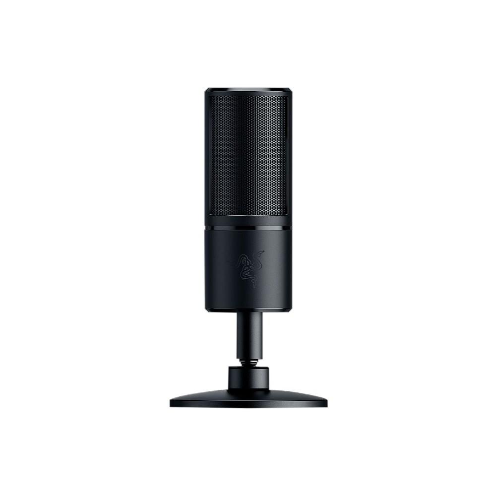 Razer Seiren X Microphone 20 Hz To 20 Khz Wired Condenser Super Cardioid Shock Mount Usb Recording Equipment Microphone Usb