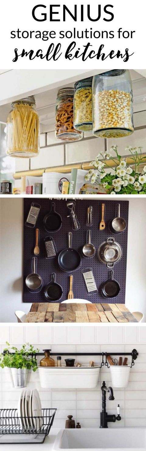 Small Kitchen Storage Ideas: A Collection of Favorites | Designer Trapped
