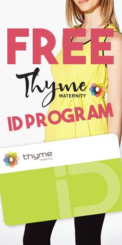 Discover the #Thyme #Maternity ID Card