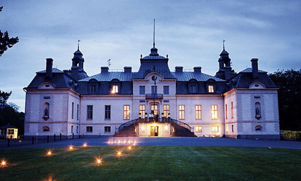Lantligt Bröllop Stockholm ~ Kronovalls Vinslott Mitt bröllop platsen Castle, Mansions och Grand homes