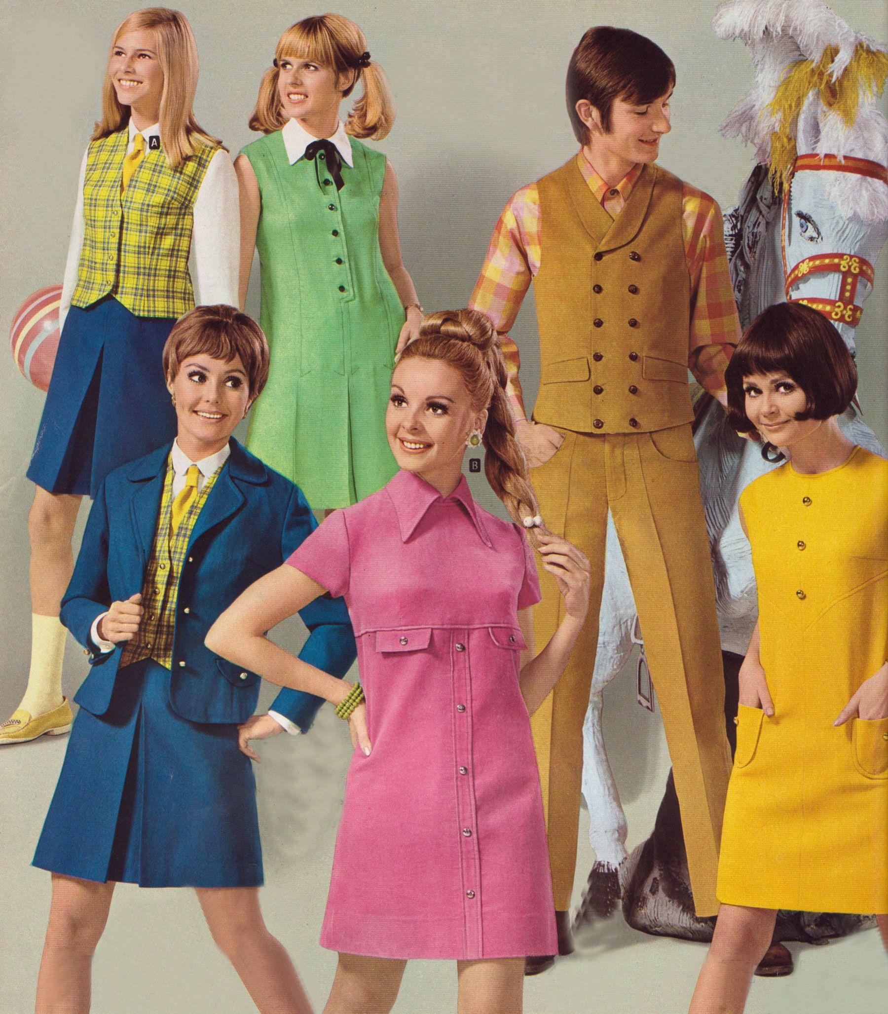 1967 1968 20th century women 39 s apparel pinterest ann es 60 annee et mode 1960. Black Bedroom Furniture Sets. Home Design Ideas