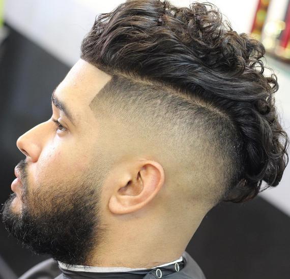 Disconnected Undercut Mens Hair