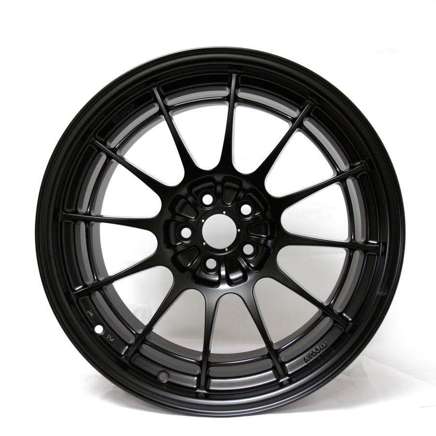 Enkei Nt03 M 18x9 5 5x100 40mm Offset Black Wheels Cars And Car