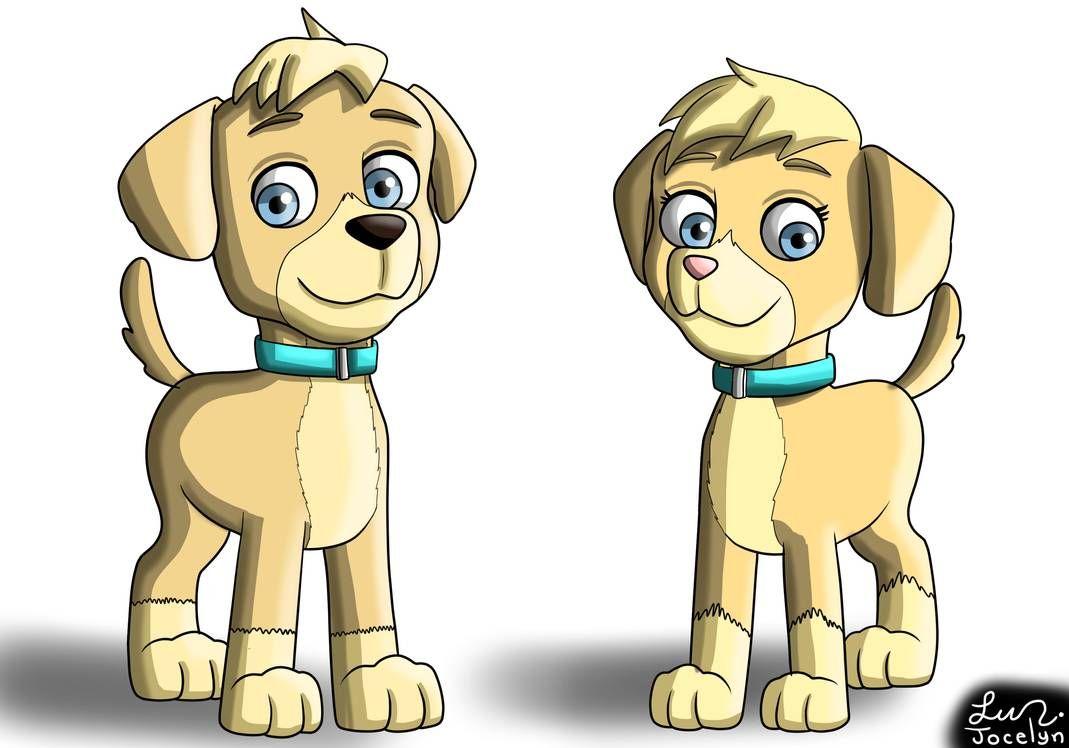Paw Patrol Mighty Twins By Jocelynminions Paw Patrol Pups Paw
