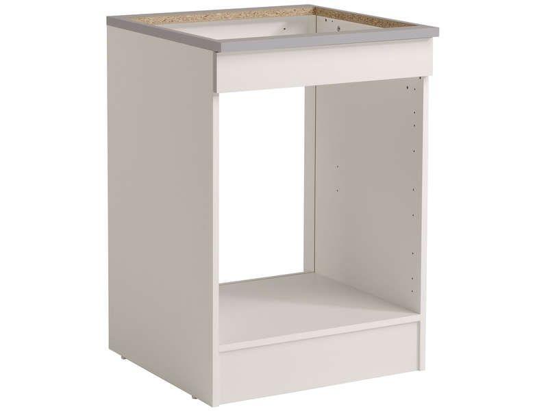 meuble bas 60 cm four plaque meuble