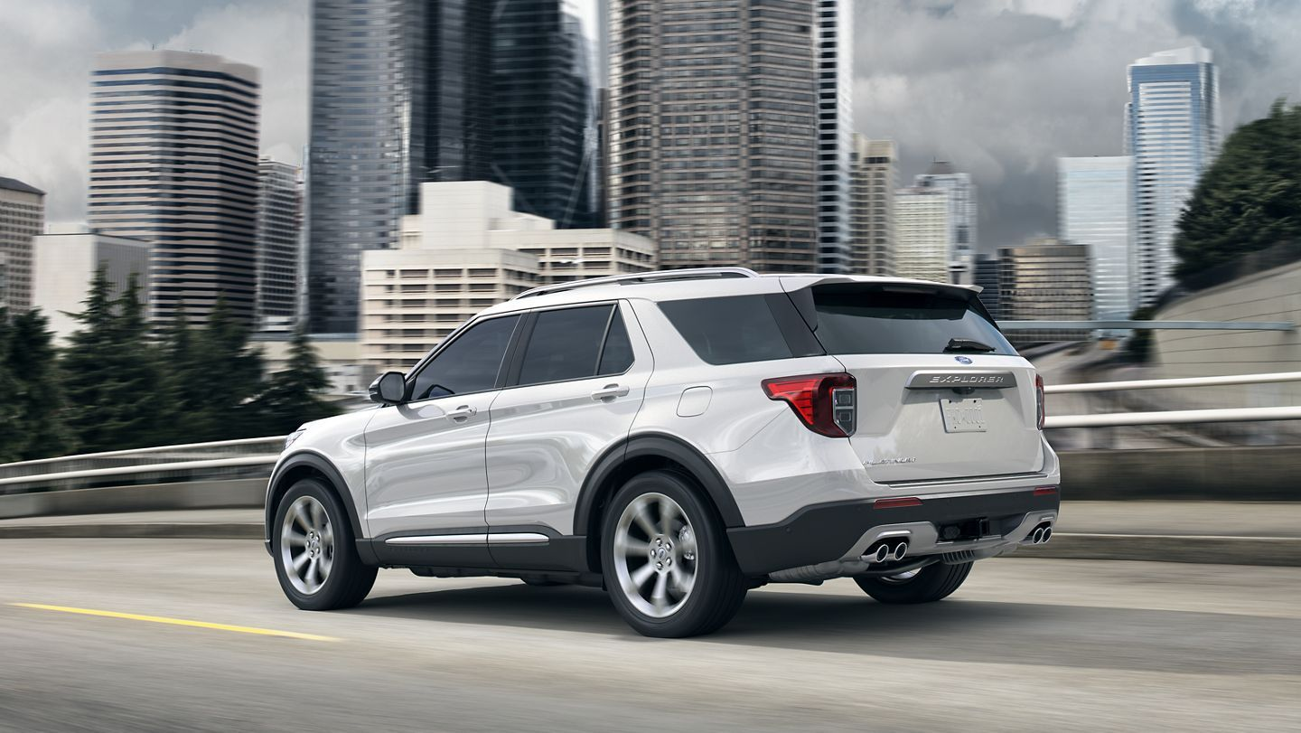 2020 Ford® Explorer SUV New and Improved BestSelling