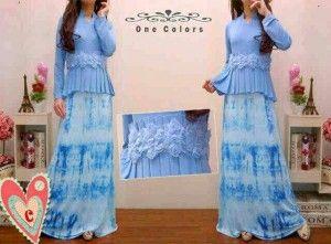 Model baju maxi dress