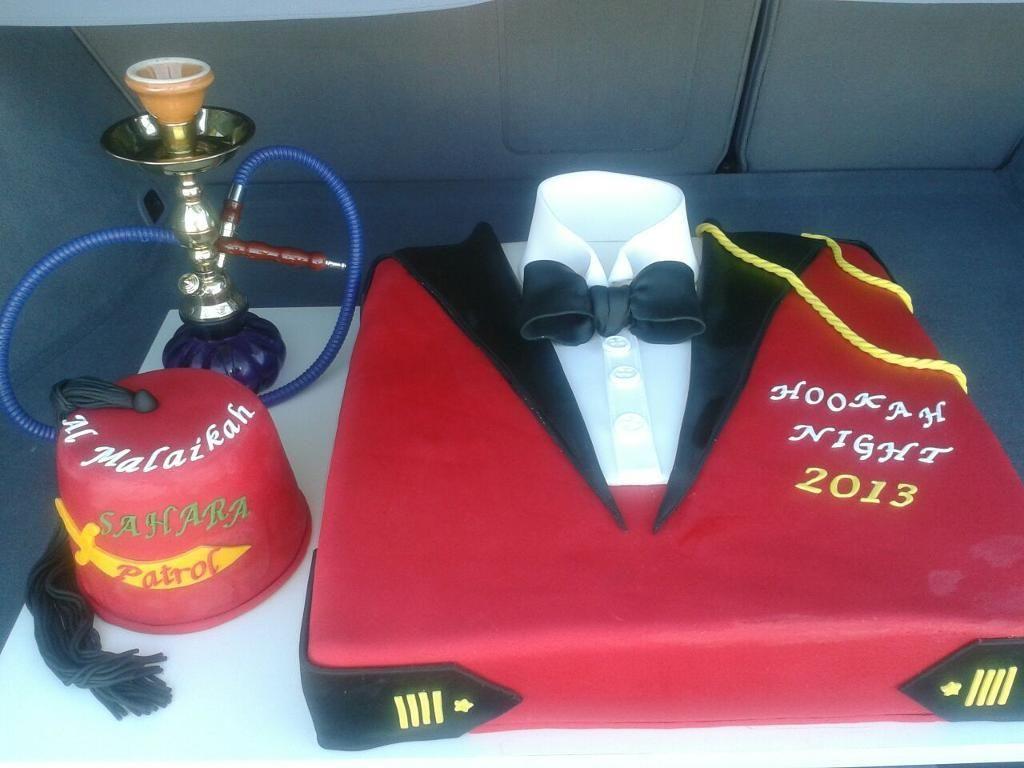 My cake for  Al-Malaikah Shriner event - via @Craftsy