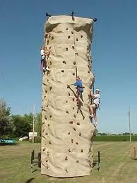 Will Climb One Of These With Images Inflatable Rentals Kids Events Rock Climbing