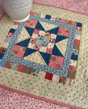Mini Quilt Patterns | Doll quilt, Free pattern and Country : doll quilts patterns - Adamdwight.com